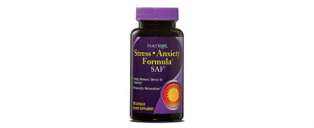 Natrol SAF Stress and Anxiety Formula Review