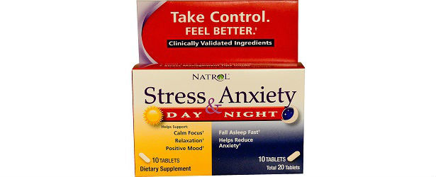 Natrol Stress & Anxiety Review 615
