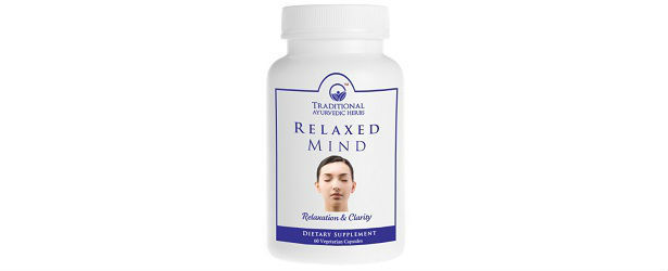 Relaxed Mind – Organic Ayurvedic Relaxation Stress Relief Formula Review