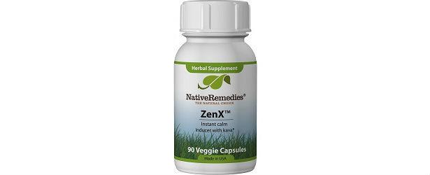 ZenX Anxiety Relief Supplements